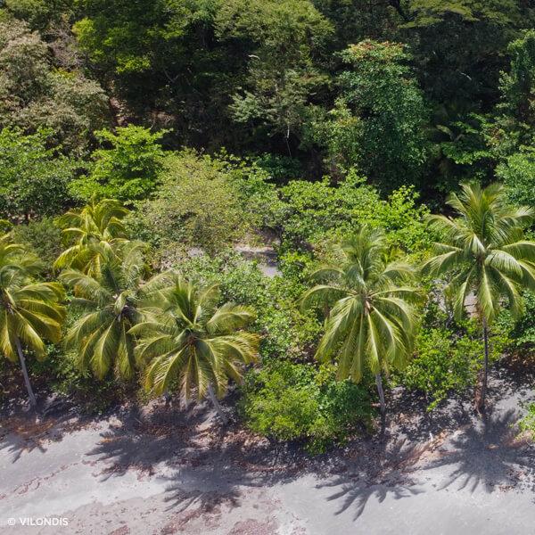 Anse Céron, Martinique - photographie par drone réalisée par ©Vilondis