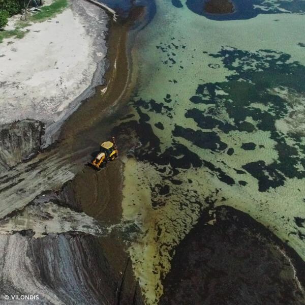 Pointe Faula, Martinique - photographie par drone réalisée par ©Vilondis