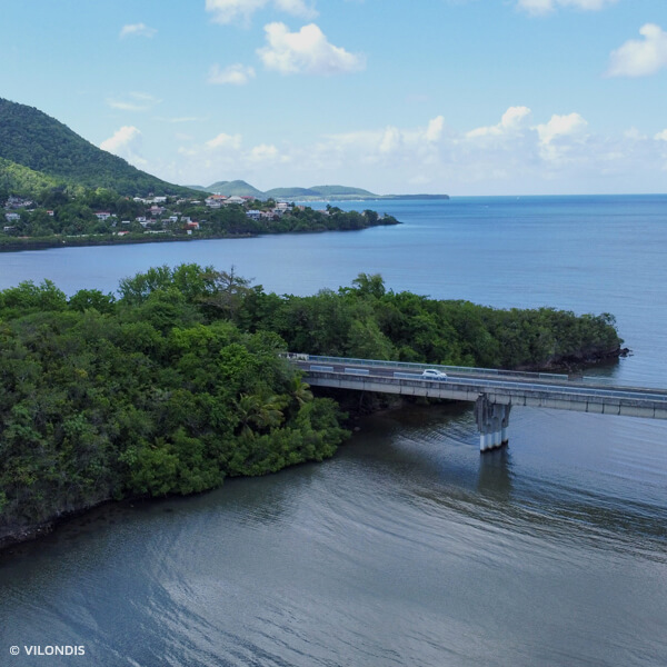 Sainte-Luce, Martinique - photographie par drone réalisée par ©Vilondis